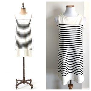 Anthropologie Allihop Striped Sleeveless Dress EUC